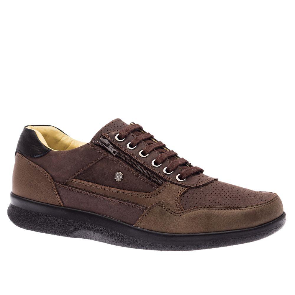 Sapato-Masculino-Esporao-em-Couro-Graxo-Cafe--Fossil-Cafe--Graxo-Preto-3063--Doctor-Shoes-Marrom-37