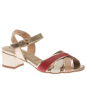 Sandalia-Feminina-em-Couro-Roma-Bistro-Off-White-Ouro-1493--Doctor-Shoes-Dourado-35