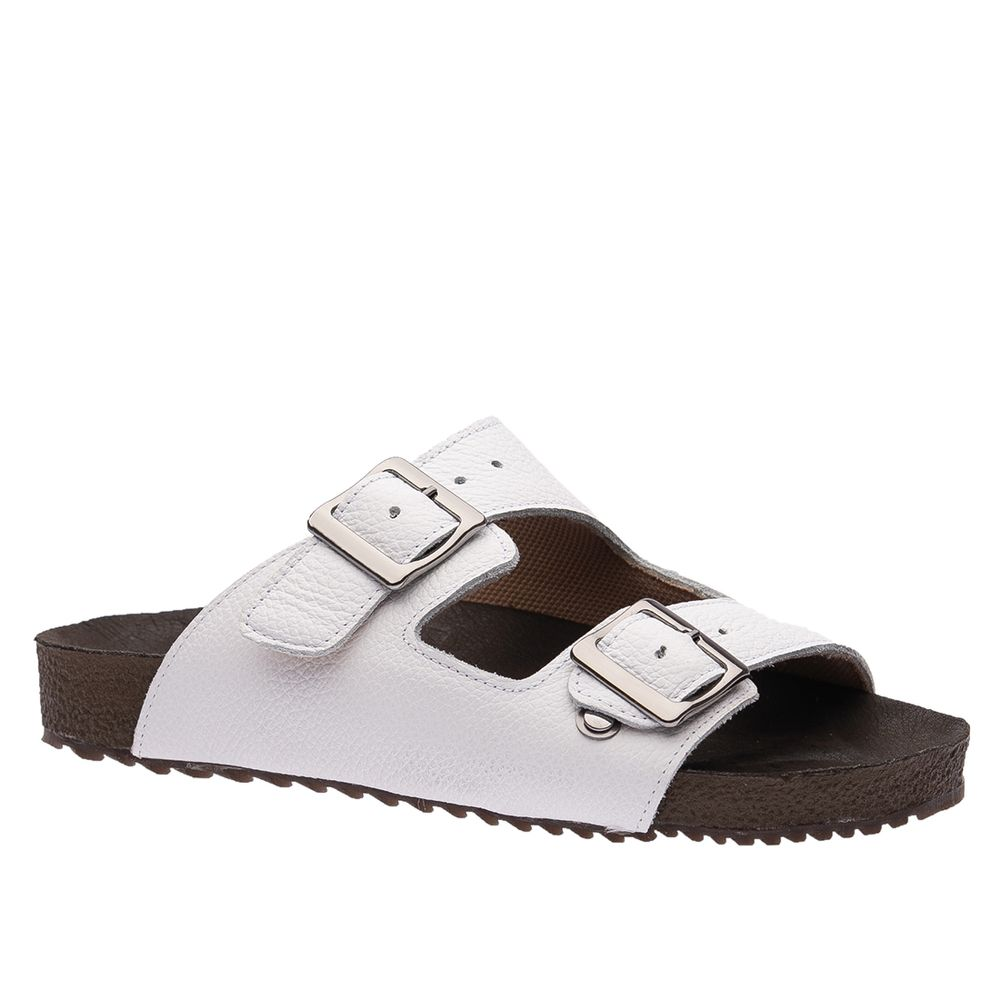 Sandalia-Feminina-Birken--em-Couro-Floater-Branco-214-Doctor-Shoes-Branco-34
