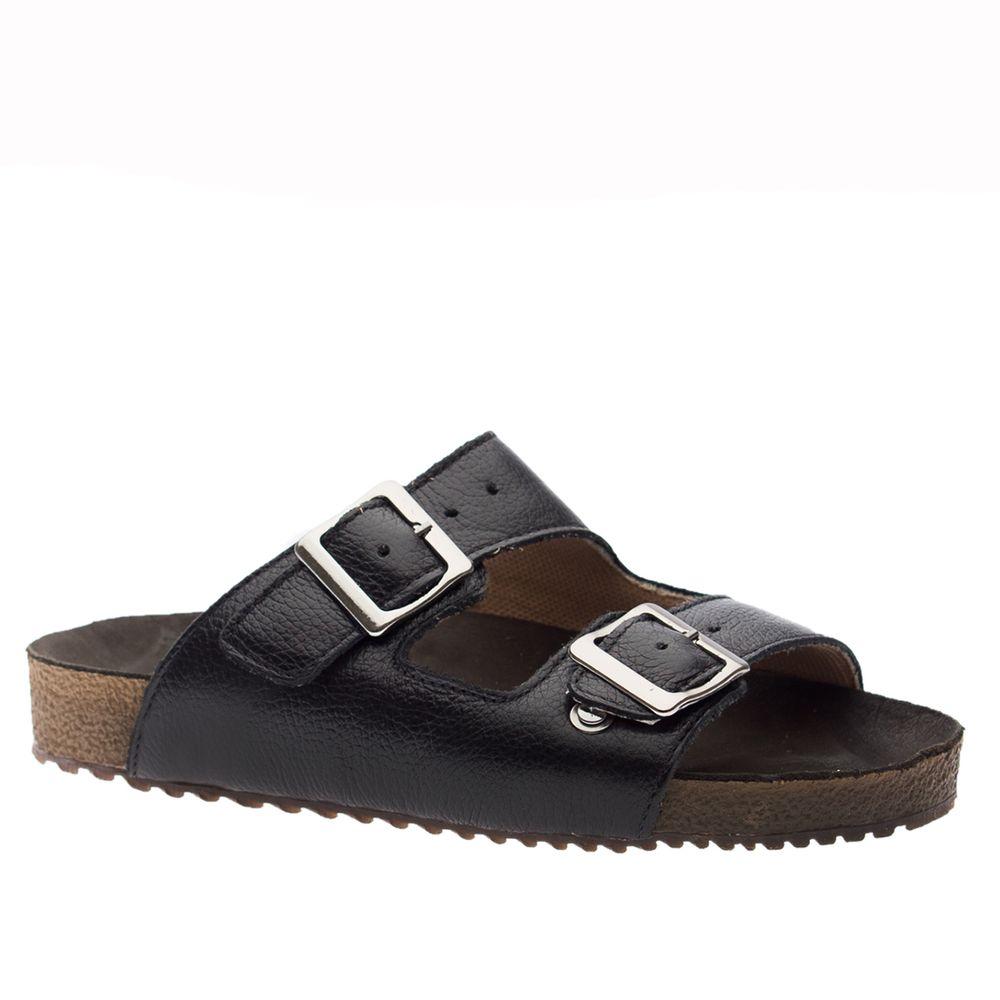 Sandalia-Feminina-Birken-em-Couro-Floater-Preto-214-Doctor-Shoes-Preto-34
