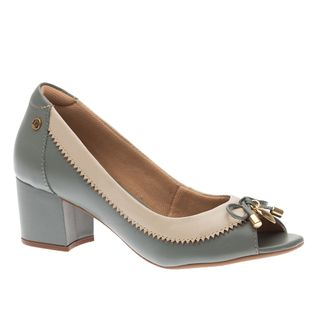 Peep-Toe-Feminino-em-Couro-Veneto-Denim-Off-White-1506-Doctor-Shoes-Verde-36