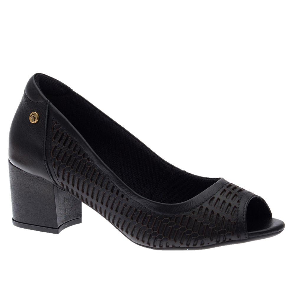Peep-Toe-Feminino-em-Couro-Roma-Preto-1505-Doctor-Shoes-Preto-37