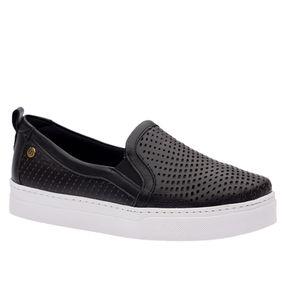 Tenis-Feminino-Slip-On-em-Couro-Roma-Preto-1467-Doctor-Shoes-Preto-34