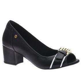 Peep-Toe-Feminino-em-Couro-Roma-Preto-1507-Doctor-Shoes-Preto-38