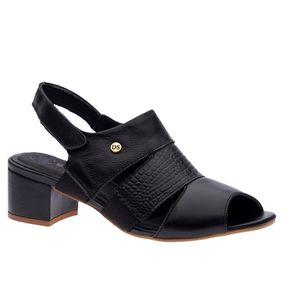 Sandalia-Feminina-em-Couro-Roma-Preto-Croco-Preto-1491-Doctor-Shoes-Preto-35