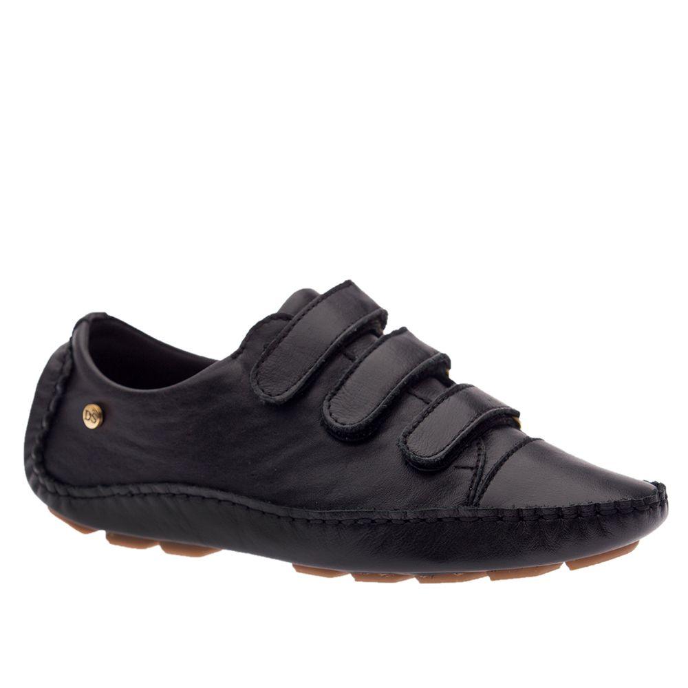 Tenis-Feminino-Driver-em-Couro-Roma-Preto-1441-Doctor-Shoes-Preto-36