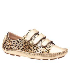 Tenis-Doctor-Shoes-Couro-Dourado
