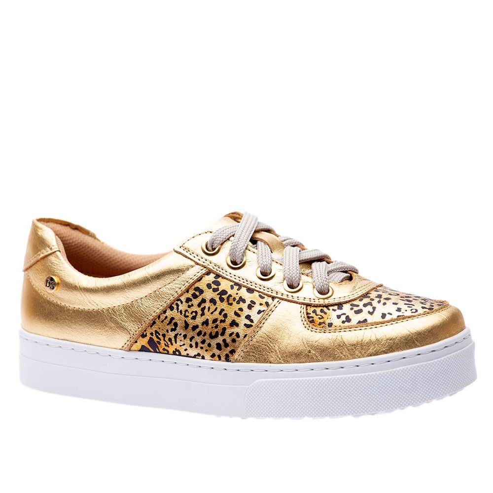 Tenis-Doctor-Shoes-Couro-1469-Dourado