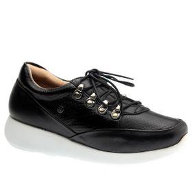 Tenis-Doctor-Shoes-Couro-1401-Preto-Serpente