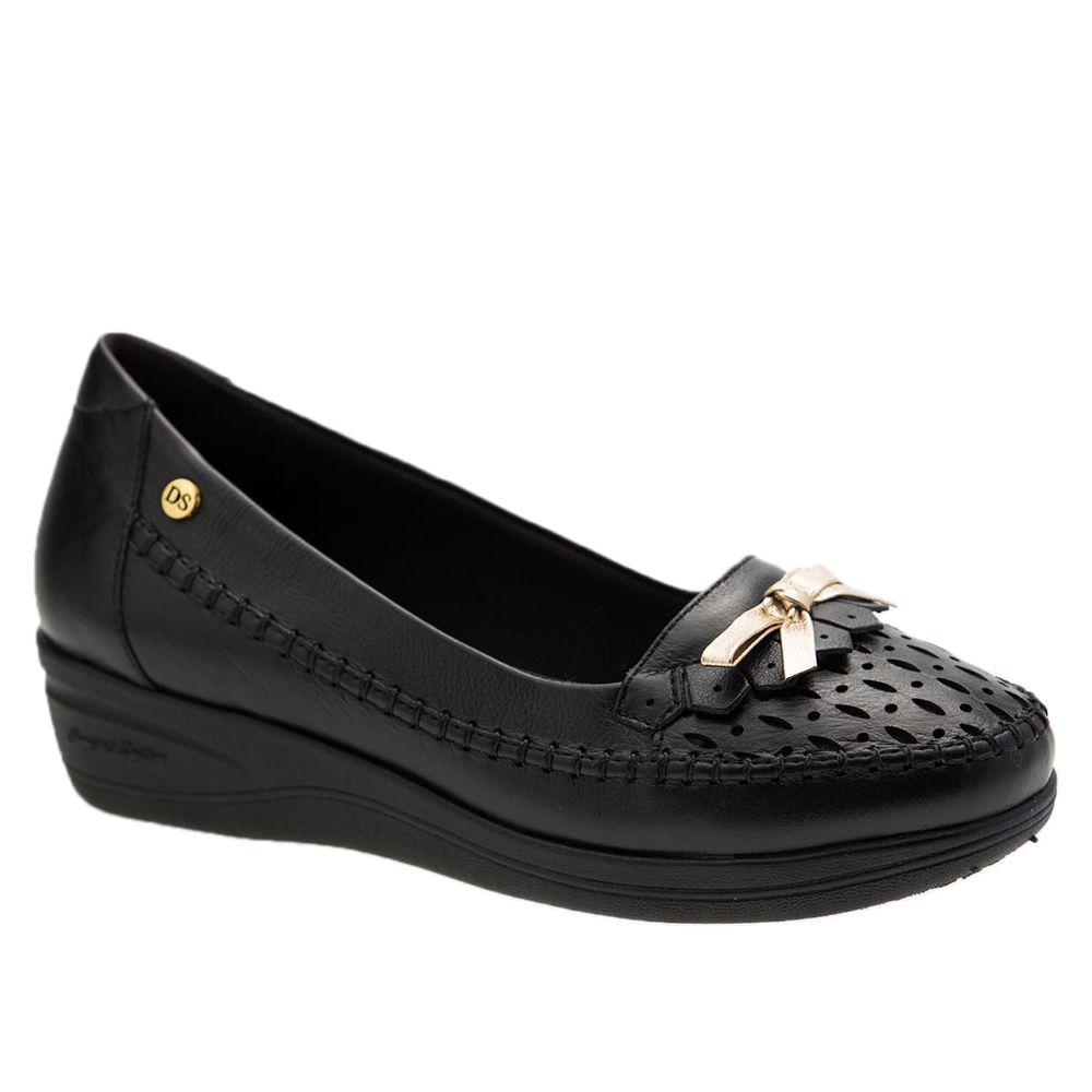 Sapato-Anabela-Doctor-Shoes-Couro-7801-Preto