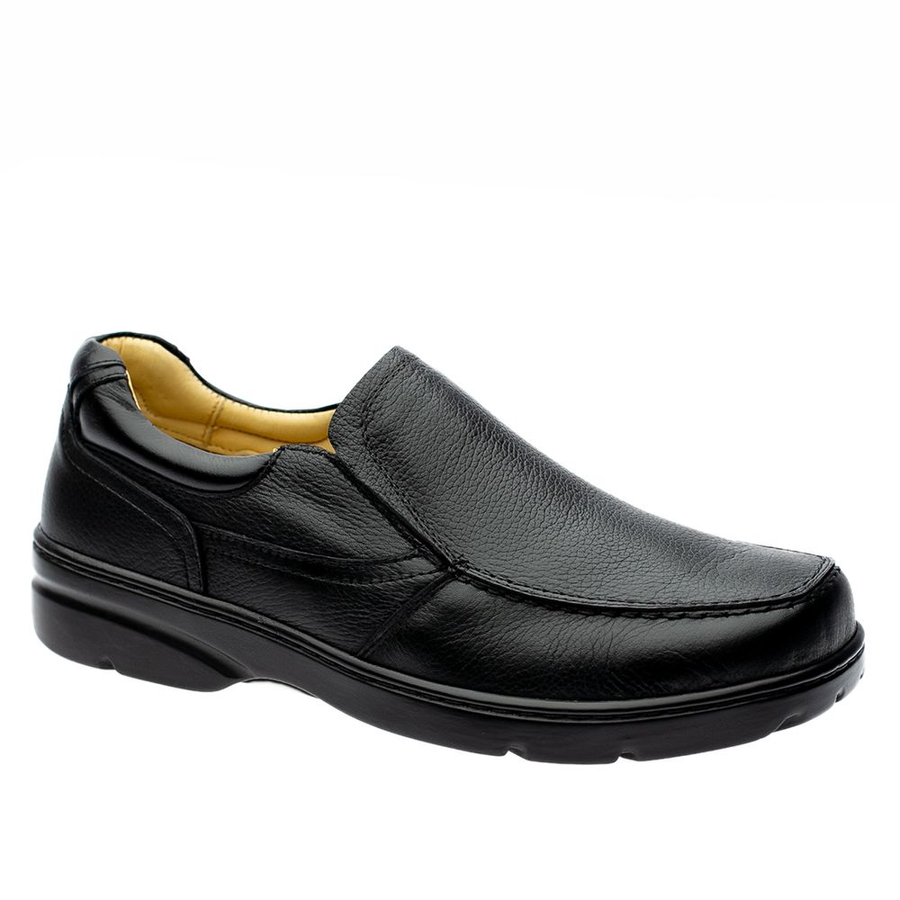 Sapato-Casual-Doctor-Shoes-Diabetico-Couro-5310-Preto