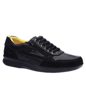 Sapato-Casual-Doctor-Shoes-Esporao-Couro-3063-Preto-Preto--Liso-
