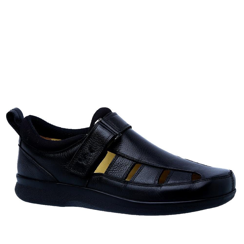 Sandalia-Doctor-Shoes-Diabetico-Couro-3059-Preta