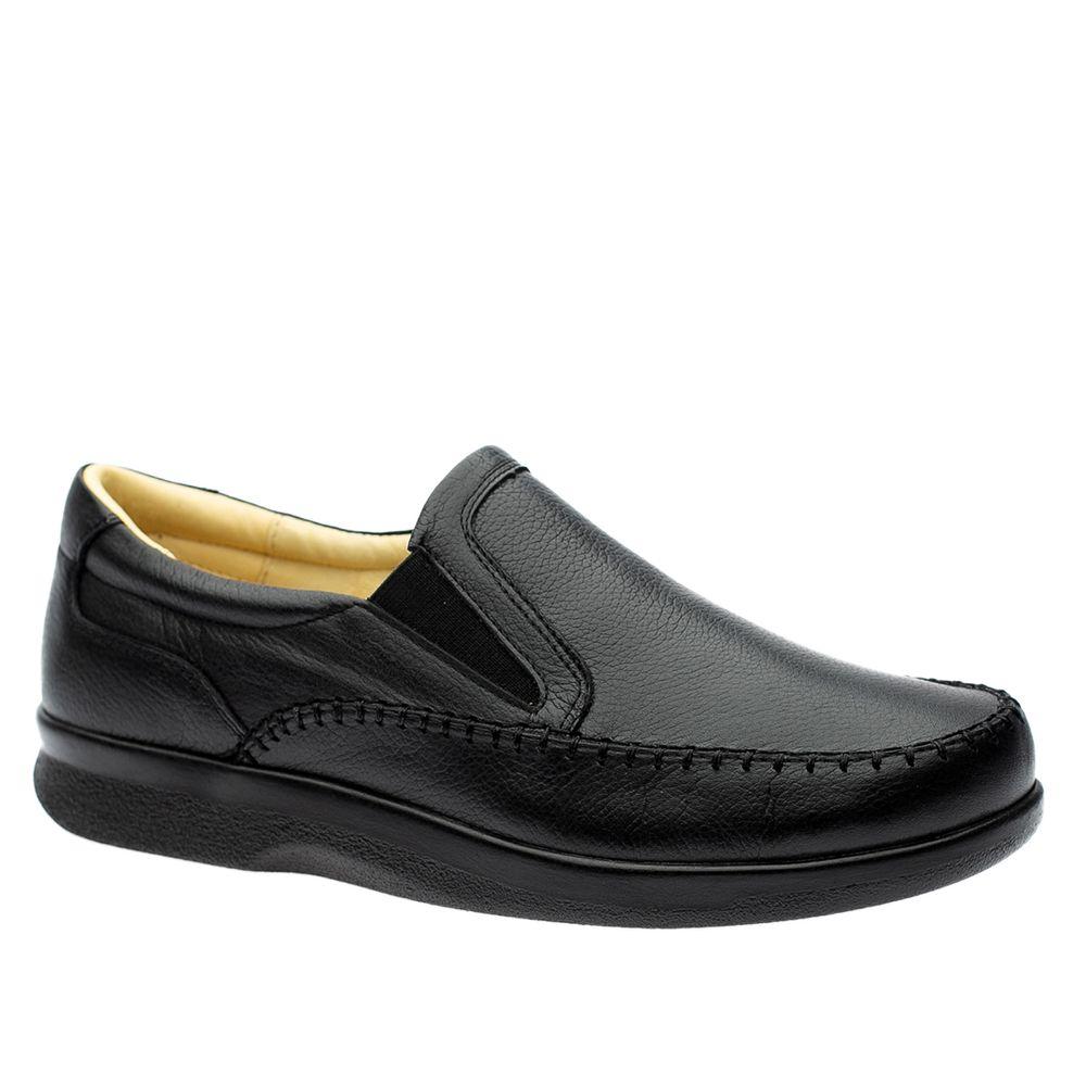 Sapato-Casual-Doctor-Shoes-Diabetico-Couro-3064-Preto