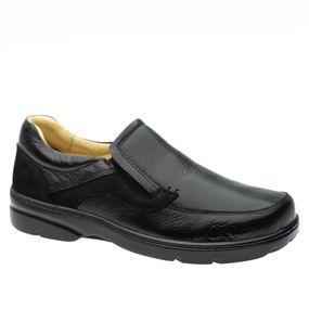 Sapato-Casual-Doctor-Shoes-Diabetico-Couro-5309-Preto
