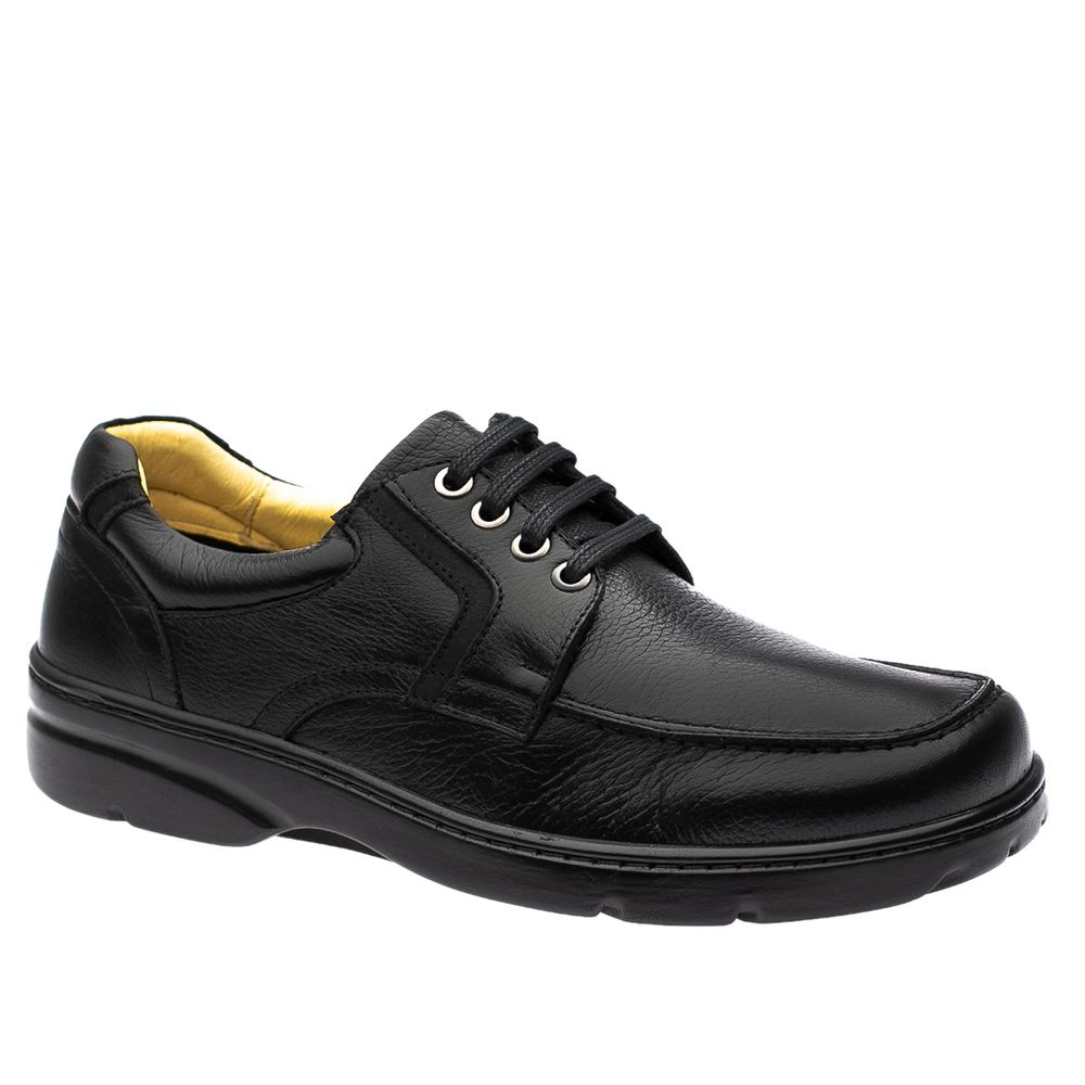 Sapato-Casual-Doctor-Shoes-Diabetico-Couro-5311-Preto