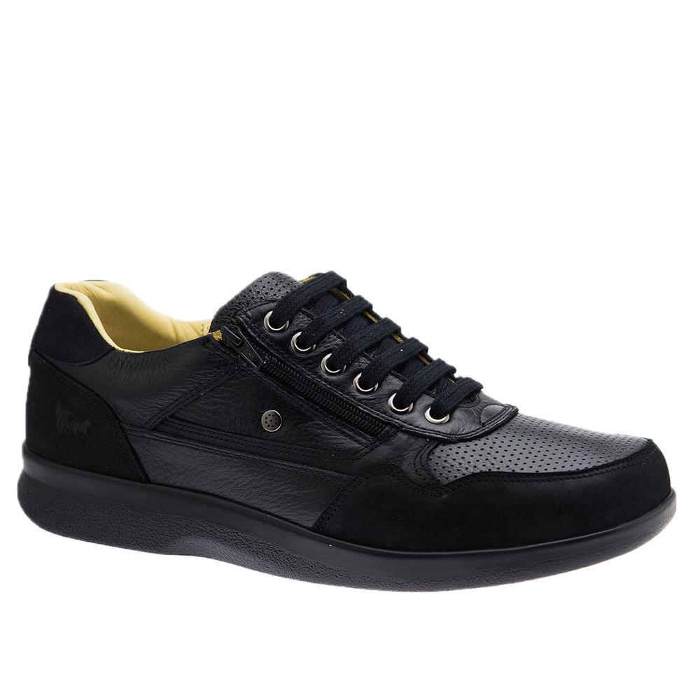 Sapato-Casual-Doctor-Shoes-Esporao-Couro-3063-Preto-Preto