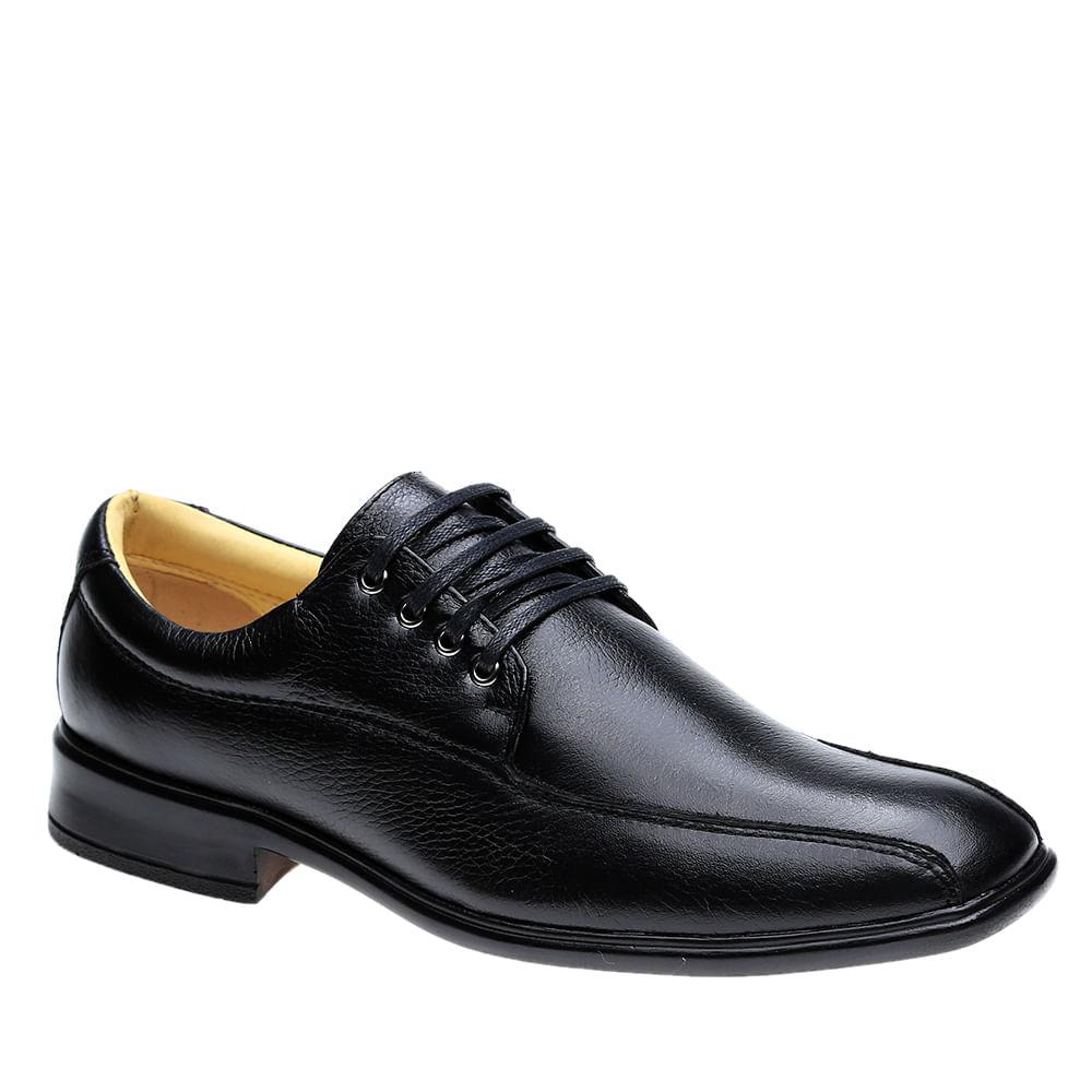 Sapato-Social-Doctor-Shoes-Extra-Comfort-Superleve-Design-Italiano-em-Couro-Preto