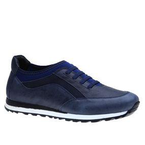 Sapatenis-Doctor-Shoes-Couro-4063-Elastico-Marinho