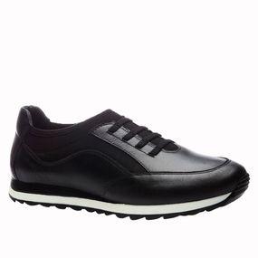 Sapatenis-Doctor-Shoes-Techprene-Couro-4063-Elastico-Preto