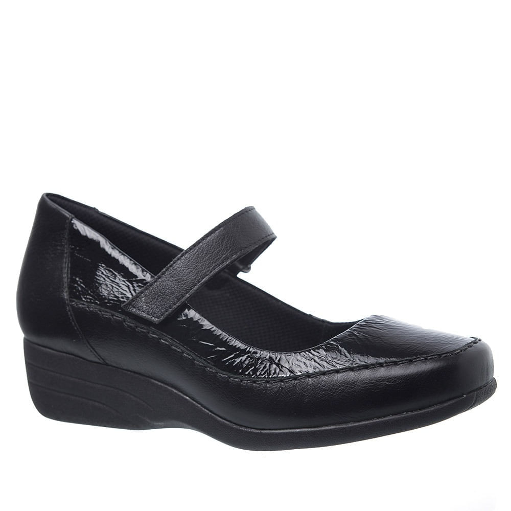 Sapato-Anabela-Doctor-Shoes-Couro-3144-Preto
