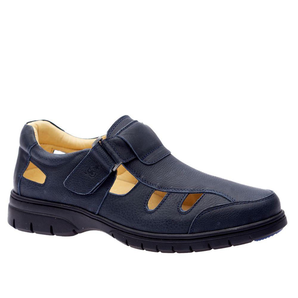Sandalia-Doctor-Shoes-Couro-1802-Marinho