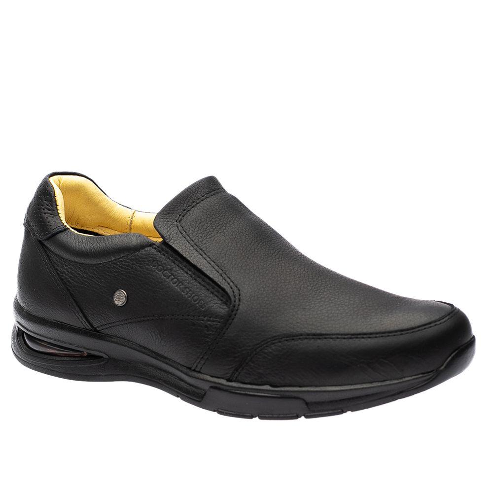 Sapato-Casual-Doctor-Shoes-com-Bolha-de-Ar-System-Anti-Impacto-Couro-2139-Preto