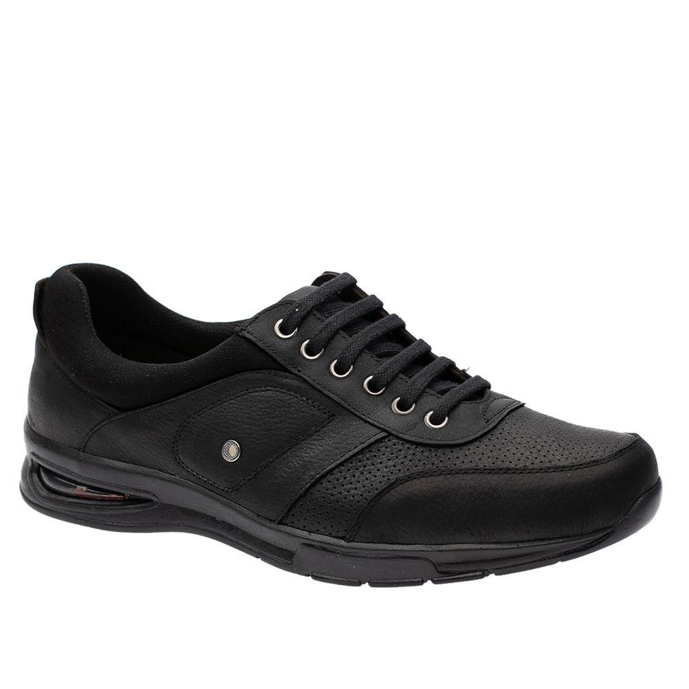 Sapato-Casual-Doctor-Shoes-com-Bolha-de-Ar-System-Anti-Impacto-Couro-2140-Preto