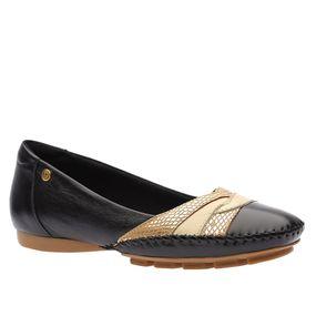 Sapatilha-Doctor-Shoes-Couro-2801-Preta-Off-Ouro