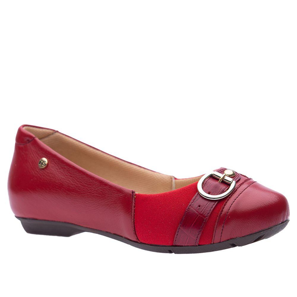 Sapatilha-Doctor-Shoes-Joanete-Couro-1294-Vermelha-Techprene-Verm