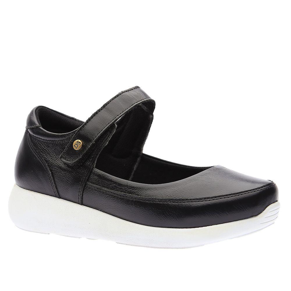 Sapato-Casual-Doctor-Shoes-Diabetico-Couro-1407-Preto