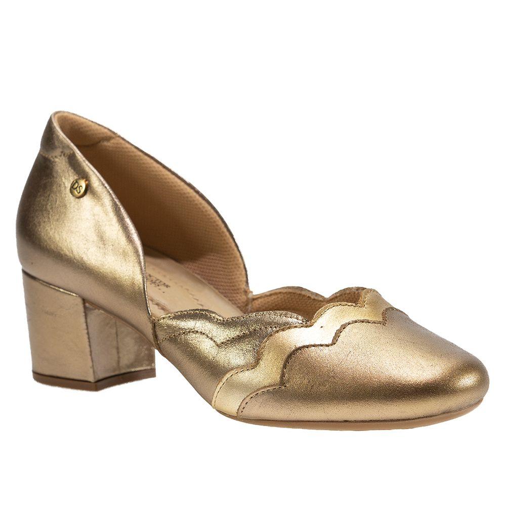 Sapato-Salto-Doctor-Shoes-Couro-1239-Prata-Velho-Ouro